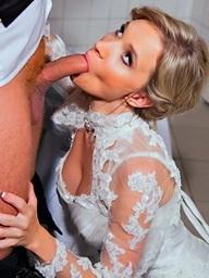 Wedding sex action