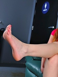 Marie McCray on 21Sextury.Com - A bit of those toes