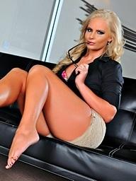 Phoenix Marie on 21Sextury.Com - The Feet Dossier