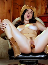 Ride 'Em Cowgirl.. featuring Jelena Jensen | Twistys.com
