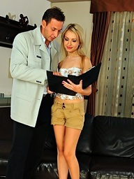 Sasha Rose on 21Sextury.Com - Pleasure with the estate agent - part 1
