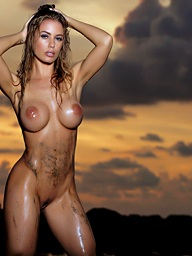 Beached Babe.. featuring Nicole Aniston | Twistys.com